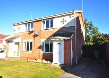 Thumbnail 2 bed semi-detached house to rent in Old Quarry Close, Barlborough, Chesterfield