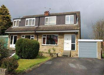 Thumbnail 3 bed semi-detached house for sale in Springfield Gardens, Keighley, West Yorkshire