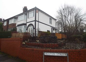 Thumbnail 3 bedroom semi-detached house for sale in Heaton Street, Prestwich, Manchester