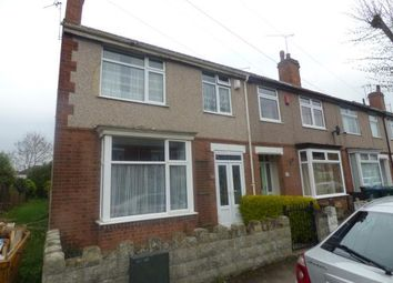Thumbnail 3 bedroom end terrace house for sale in Lindley Road, Coventry, West Midlands