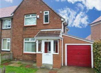 Thumbnail 3 bedroom semi-detached house for sale in Felstead Crescent, Sunderland, Tyne And Wear