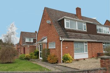 Thumbnail 3 bed semi-detached house to rent in Beech Grove, Warminster, Wiltshire