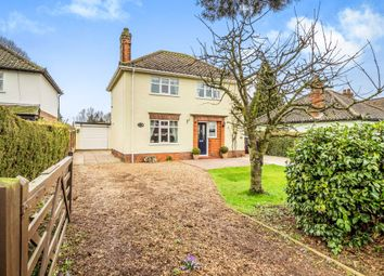 Thumbnail 3 bedroom detached house for sale in Cawston Road, Reepham, Norwich
