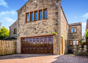 Thumbnail 5 bed detached house for sale in Green Abbey, Hade Edge, Holmfirth