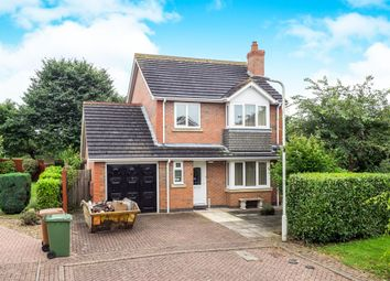 Thumbnail 3 bed detached house for sale in Dorian Rise, Melton Mowbray