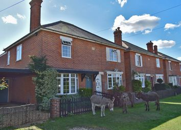 Thumbnail 3 bed semi-detached house for sale in Pilley Green, Pilley, Lymington