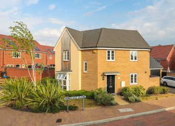 Thumbnail 3 bed detached house for sale in Windlass Close, Northampton