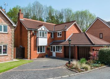 Thumbnail 5 bed detached house for sale in Somerville Close, High Legh, Knutsford