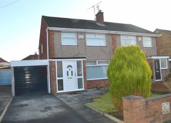 Thumbnail 3 bed semi-detached house for sale in Paisley Avenue, Eastham, Wirral