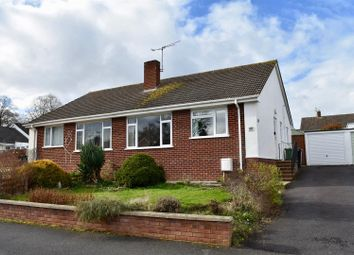 Thumbnail 2 bed semi-detached bungalow for sale in Galmington Drive, Taunton