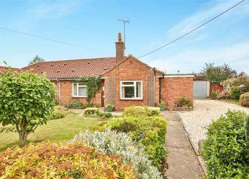 Thumbnail 2 bedroom semi-detached bungalow for sale in Groveside, East Rudham, King's Lynn