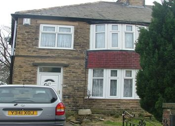 Thumbnail 3 bed terraced house to rent in Lilycroft Road, Bradford 9