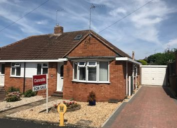 Thumbnail 2 bed semi-detached bungalow for sale in Underhill Road, Tupsley, Hereford