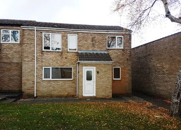 Thumbnail 3 bed semi-detached house for sale in Binbrook Walk, Corby