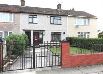Thumbnail 3 bed terraced house for sale in Clorain Road, Kirkby, Liverpool