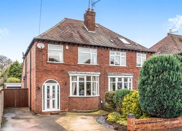 Thumbnail 4 bed semi-detached house for sale in Highfield Grove, Stafford