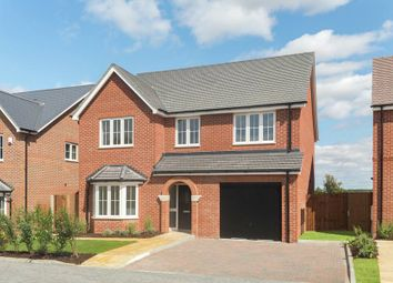 "Thumbnail 4 bed detached house for sale in ""The Pebworth"" at Main Street, Grendon Underwood, Aylesbury"