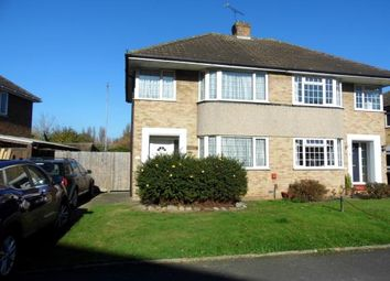 Thumbnail 3 bed semi-detached house for sale in Sedley Close, Aylesford