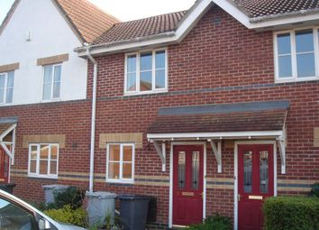 Thumbnail 2 bed terraced house to rent in Redgrave Close, Kettering