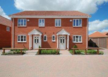 Thumbnail 3 bedroom semi-detached house to rent in Shotesham Road, Poringland, Norwich