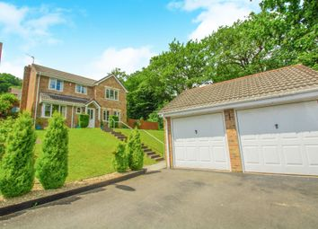 Thumbnail 4 bed detached house for sale in Dorallt Close, Henllys, Cwmbran