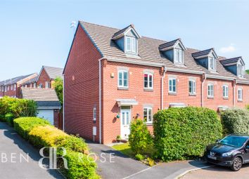 Thumbnail 3 bed end terrace house for sale in Walletts Wood Court, Chorley