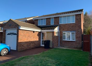 Thumbnail 4 bed detached house to rent in Clovelly Way, Bedford
