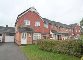 Thumbnail 3 bed end terrace house for sale in Ruffle Close, West Drayton