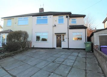 Thumbnail 4 bed semi-detached house for sale in Linkside Road, Woolton, Liverpool, Merseyside
