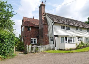 Thumbnail 4 bed semi-detached house to rent in Geerings Cottages, Dorking Road, Warnham, Horsham