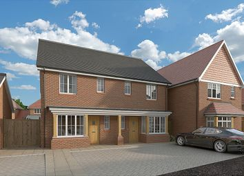 Thumbnail 3 bed semi-detached house for sale in Hitches Lane, Fleet