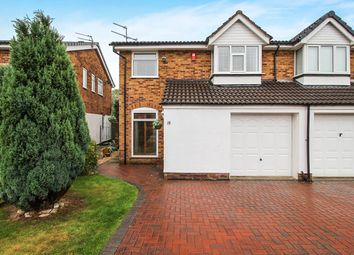 Thumbnail 4 bed semi-detached house for sale in Rowanside Drive, Wilmslow