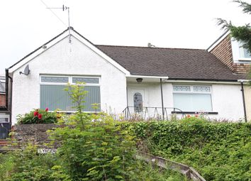 Thumbnail 2 bedroom semi-detached bungalow for sale in Broadway, Pontypool