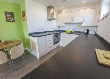 Thumbnail 1 bed flat for sale in Edgcumbe Gardens, Newquay