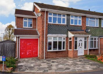 Thumbnail 4 bed end terrace house for sale in Hawkinge Way, Hornchurch, Essex
