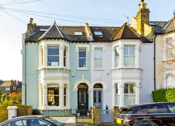 Thumbnail 4 bed end terrace house for sale in Rostrevor Road, London