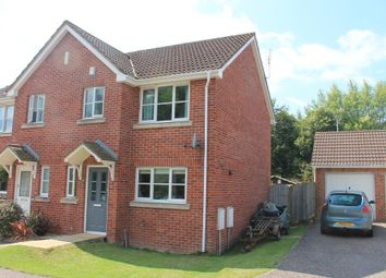 Thumbnail 3 bedroom semi-detached house for sale in Elliot Close, Ottery St. Mary