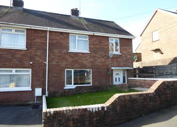 Thumbnail 3 bedroom semi-detached house to rent in Ffordd Aneurin, Pontyberem, Llanelli