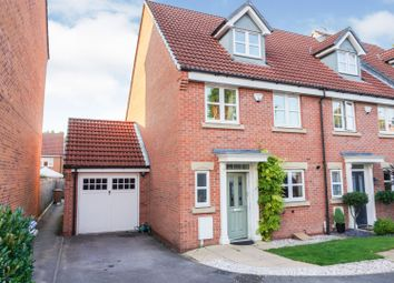 Thumbnail 4 bed semi-detached house for sale in Athens Court, Derby