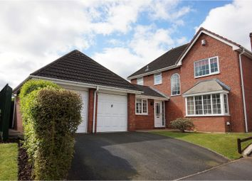 Thumbnail 4 bed detached house for sale in Plough Croft, Worcester