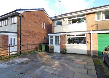 Thumbnail 3 bed semi-detached house for sale in Dunnock Close, Stockport