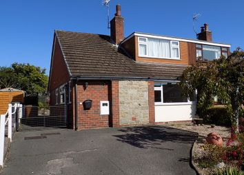 Thumbnail 3 bed semi-detached bungalow for sale in Marlpit Lane, Denstone, Staffs