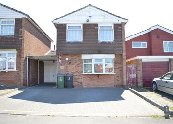 Thumbnail 4 bed detached house for sale in St. Edmunds Close, West Bromwich