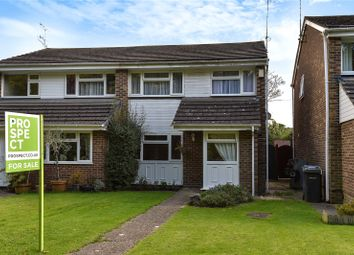 Thumbnail 3 bed semi-detached house for sale in Hall Lane, Yateley, Hampshire