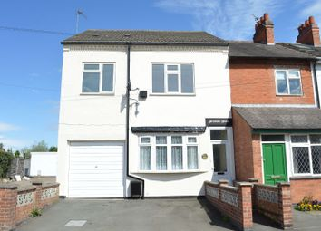 Thumbnail 4 bed end terrace house for sale in Glen Road, Oadby, Leicester