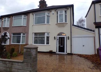 3 bed semi-detached house for sale in Lammermoor Road, Mossley Hill, Liverpool, Merseyside L18