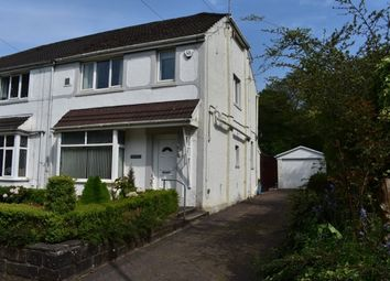 Thumbnail 3 bed semi-detached house to rent in Gwernllwynchwyth Road, Llansamlet, Swansea