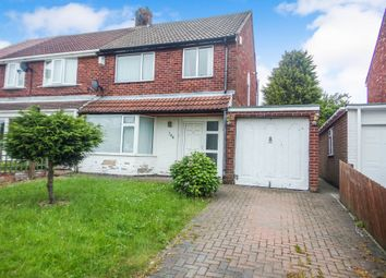 Thumbnail 3 bed semi-detached house to rent in Tynedale Drive, Blyth