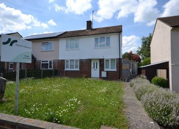 Thumbnail 3 bed semi-detached house for sale in Edinburgh Drive, Didcot