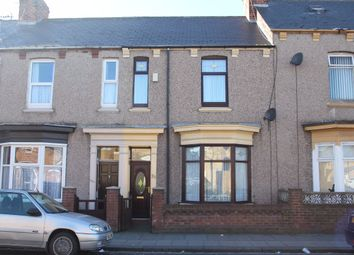 Thumbnail 4 bed terraced house to rent in Raby Road, Hartlepool